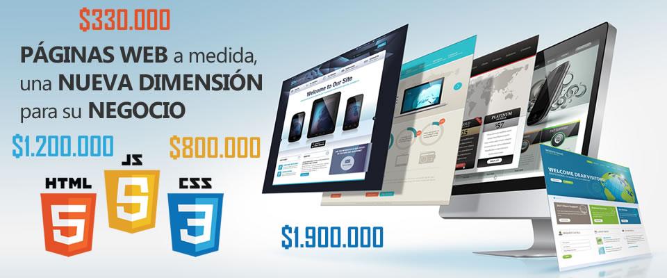 precios de paginas web en bucaramanga